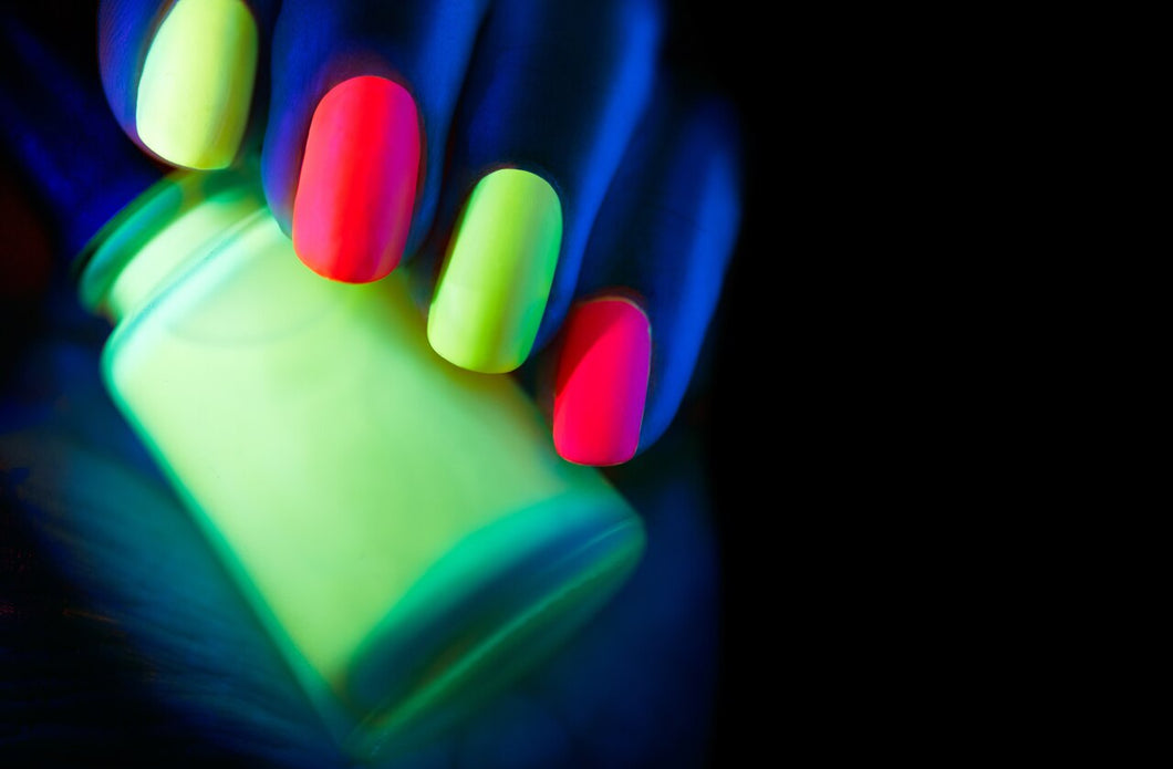 Glow In The Dark Nail Polish Samplers