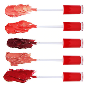Red Top Gloss Package 240 pcs w/5 Colors