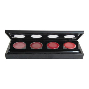 EyeShadow Palette Rectangle 4 Cup - 175 pcs w/4 Colors