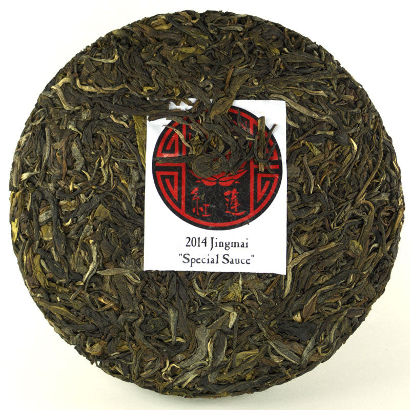 "2014 Jingmai ""Special Sauce"" Sheng / Raw Puerh LIMITED EDITION (All Sold Out) from Crimson Lotus Tea"
