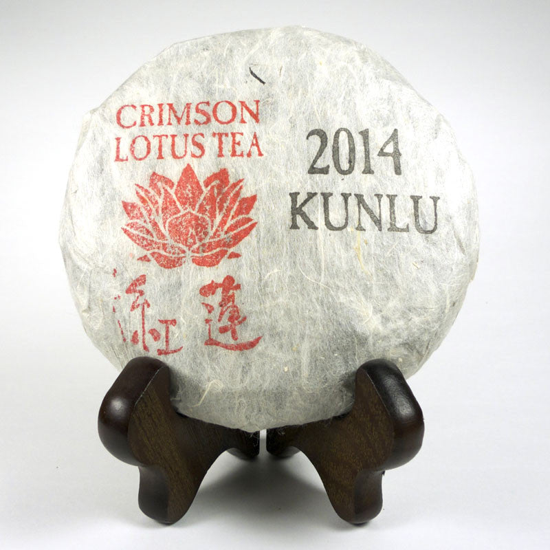 Spring 2014 Kunlu Mountain Small Arbor Tree Sheng / Raw Puerh 100g Cake