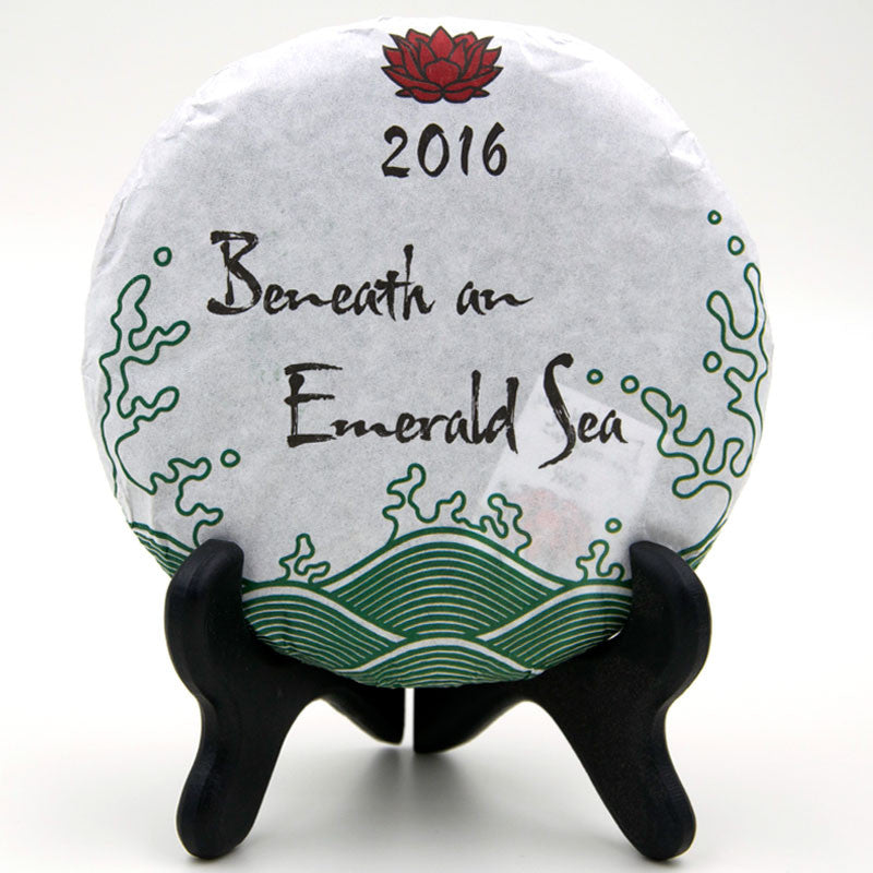 "Spring 2016 ""Beneath an Emerald Sea"" Sheng / Raw Puerh from Crimson Lotus Tea :: Seattle Inventory"