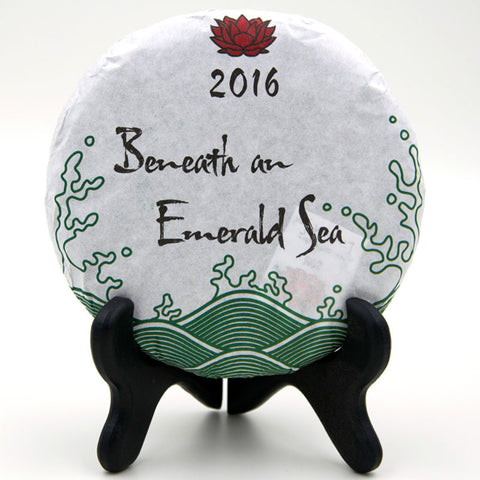 "Spring 2016 ""Beneath an Emerald Sea"" Sheng / Raw Puerh from Crimson Lotus Tea :: FREE SHIPPING"