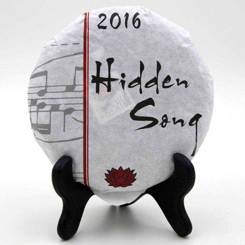 "Spring 2016 ""Hidden Song"" Sheng / Raw Puerh from Crimson Lotus Tea"
