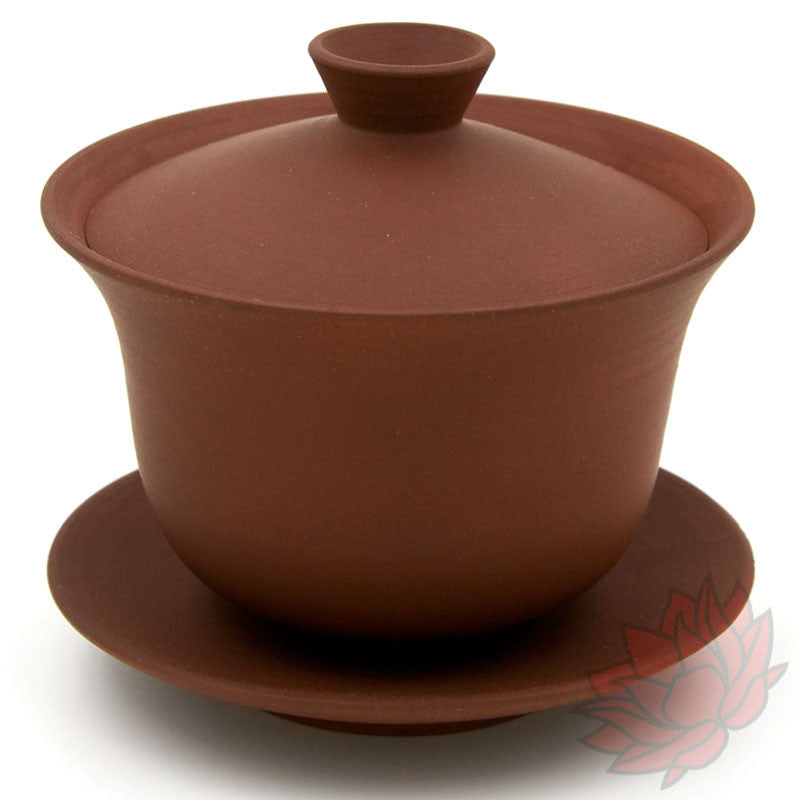 Jianshui Zitao Clay Gaiwan - Matte Red - 120ml :: FREE SHIPPING