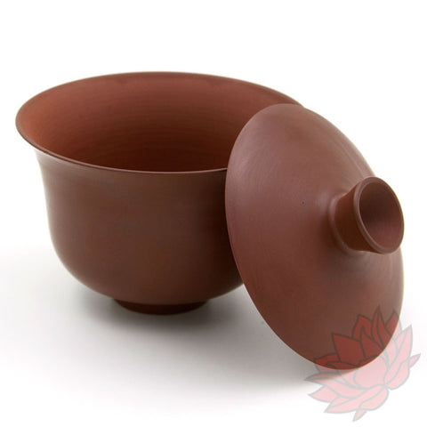 Jianshui Zitao Clay Gaiwan - Polished Red - 120ml :: FREE SHIPPING