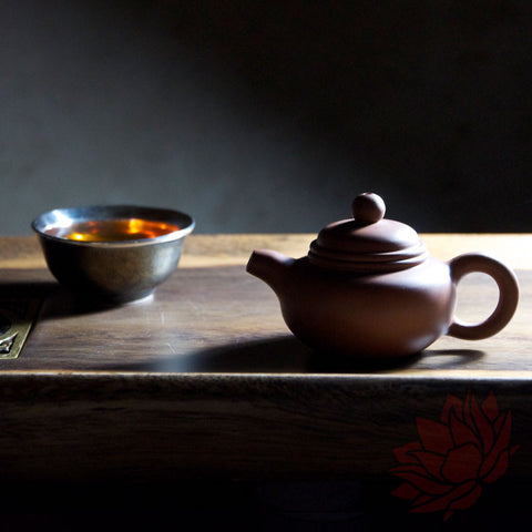 Jianshui Zitao Clay Teapot Fang Gu Style - Red - 50-70ml :: FREE SHIPPING