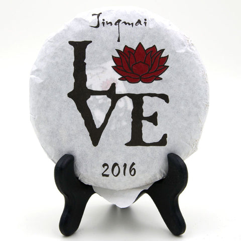 "Spring 2016 ""Jingmai LOVE"" Sheng / Raw Puerh from Crimson Lotus Tea :: Seattle Inventory"