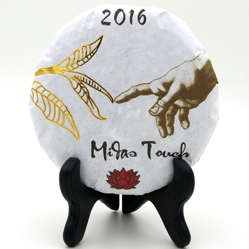 "Spring 2016 Jingmai ""Midas Touch"" Sheng / Raw Puerh from Crimson Lotus Tea :: FREE SHIPPING"