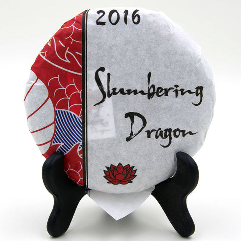 "Spring 2016 ""Slumbering Dragon"" Sheng / Raw Puerh from Crimson Lotus Tea :: FREE SHIPPING"