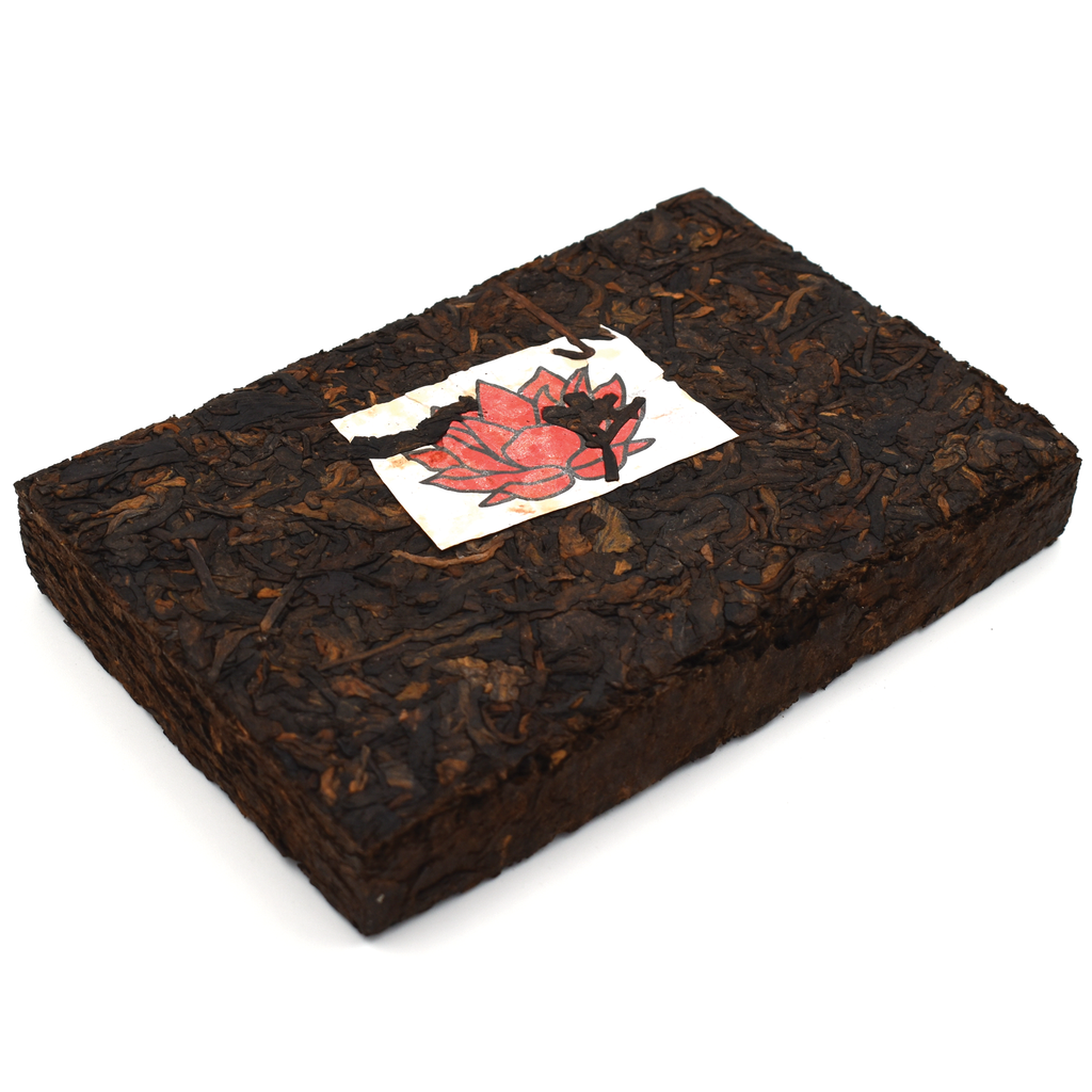 """White Label"" Brick -  Shou / Ripe Puerh Tea 250g :: Seattle Inventory"