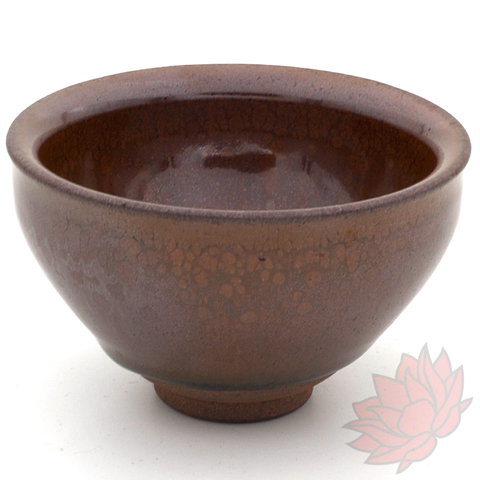 Wood Fired Jianzhan Teacup 'Tian Mu Xi Hong Shi' 100ml :: FREE SHIPPING