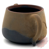 Wood Fired Jianshui Zitao Clay Teapot Shi Piao Style with Carved Lotus - 120ml :: FREE SHIPPING