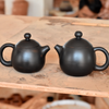Black Jianshui Zitao Teapot - Dragon's Egg Style ~100ml