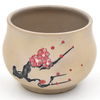 Cherry Blossom Jianshui Zitao White Clay Teacup 75ml :: FREE SHIPPING