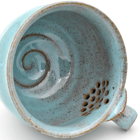 Blue Brew Bowl by Mark Mohler - 100ml :: FREE SHIPPING