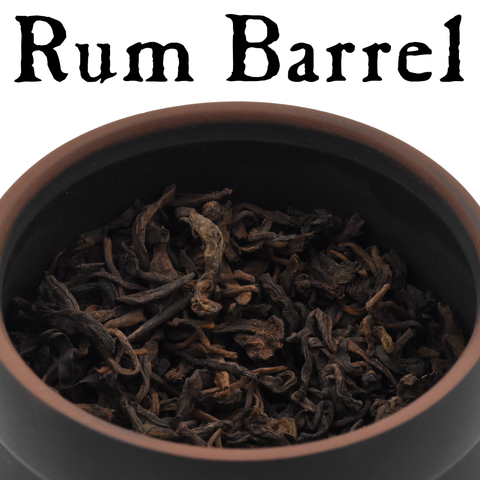 "2019 ""Rum Barrel"" Shou Puerh Tea with Jianshui Zitao Storage Jar :: FREE SHIPPING"