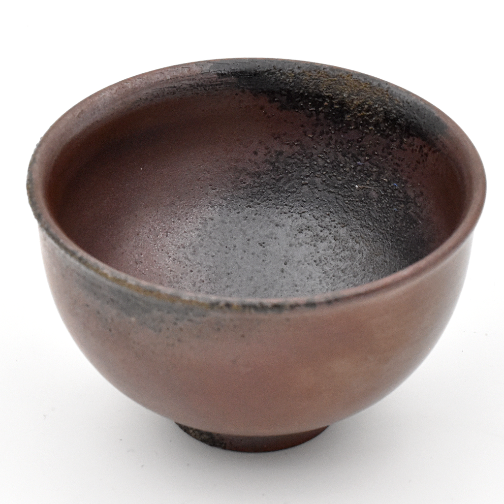 Wood Fired Huaning - Chengdu Clay Teacup 60ml #4 :: FREE SHIPPING