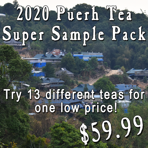 2020 Puerh Tea Super Sample Pack
