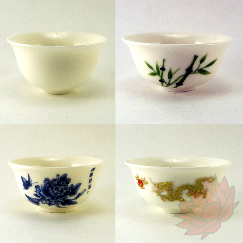 Porcelain Tea Tasting Cups