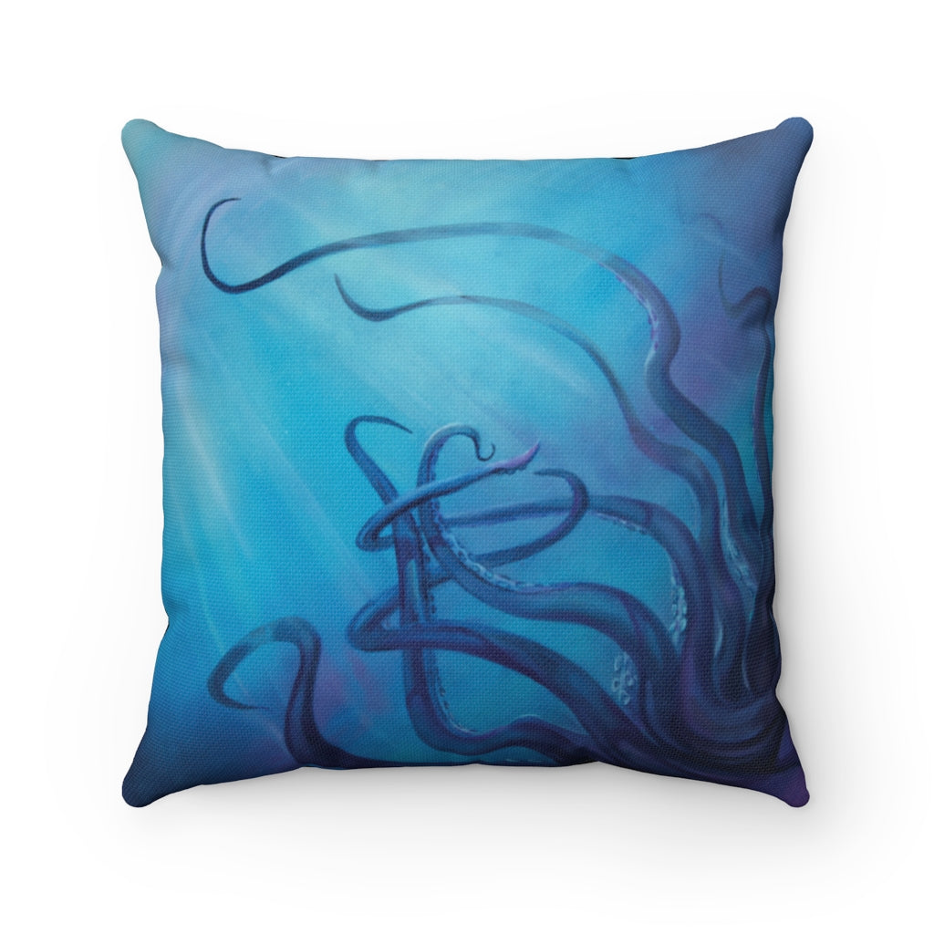 Dark Depths Pillow