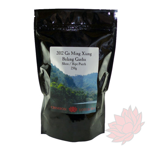 "2012 Bulang Gushu ""Ancient Tree"" Shou / Ripe Puerh (250 grams)"