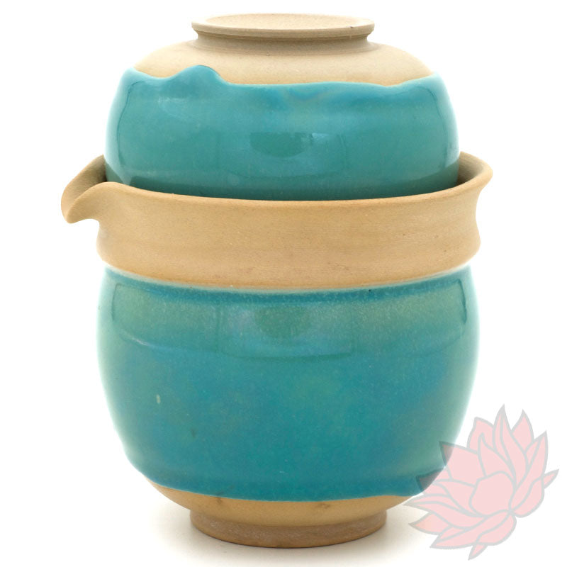 Turquoise Huaning Easy Gaiwan :: FREE SHIPPING