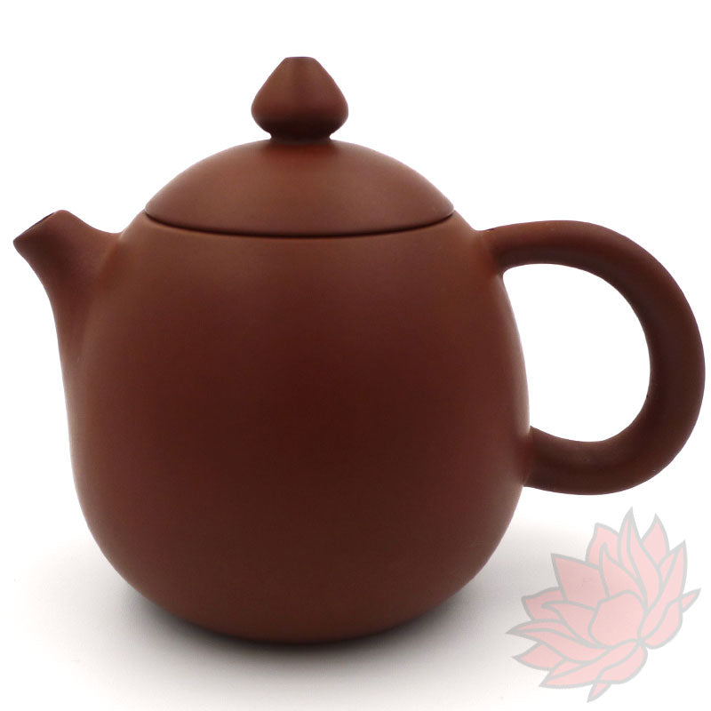 Red Jianshui Zitao Teapot - Long Dan / Dragon's Egg Style - 100-110ml :: FREE SHIPPING