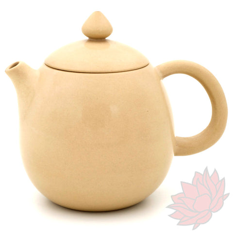 White Jianshui Zitao Teapot - Long Dan / Dragon's Egg Style - 120-130ml :: FREE SHIPPING