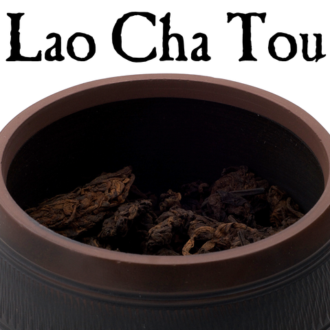 "2018 ""Lao Cha Tou"" Shou Puerh Tea with Jianshui Zitao Storage Jar :: FREE SHIPPING"