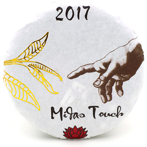 "Spring 2017 Jingmai ""Midas Touch"" Sheng / Raw Puerh from Crimson Lotus Tea :: FREE SHIPPING"