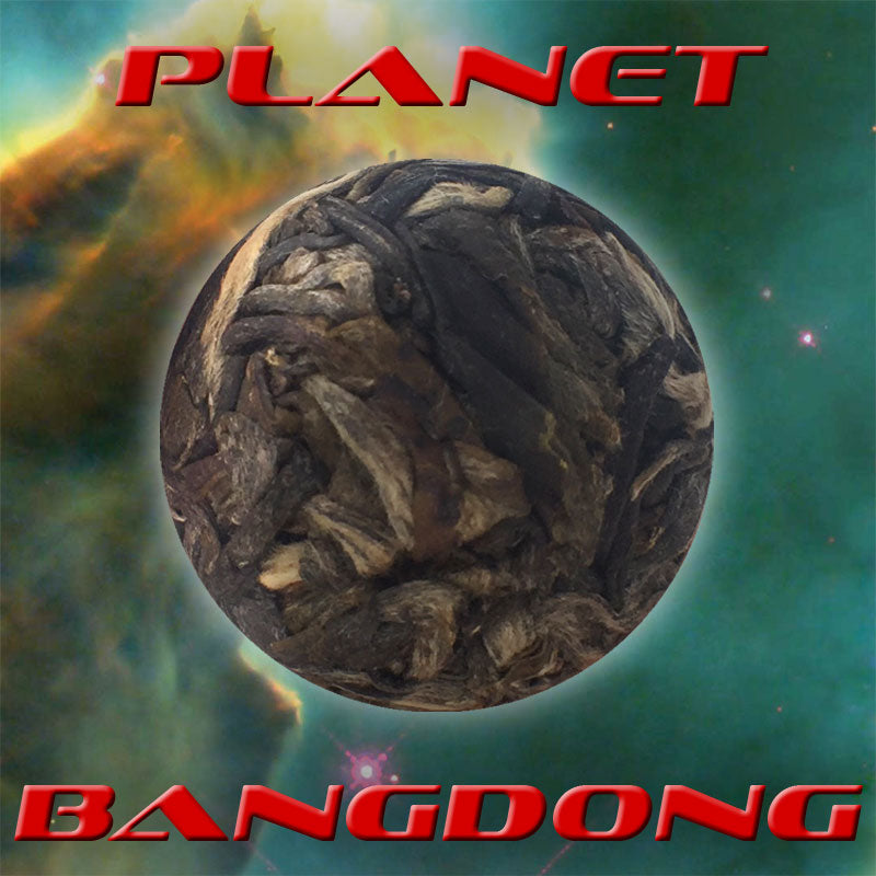 """Planet Bangdong"" Single Serving Sheng / Raw Puerh Tea Dragon Balls"