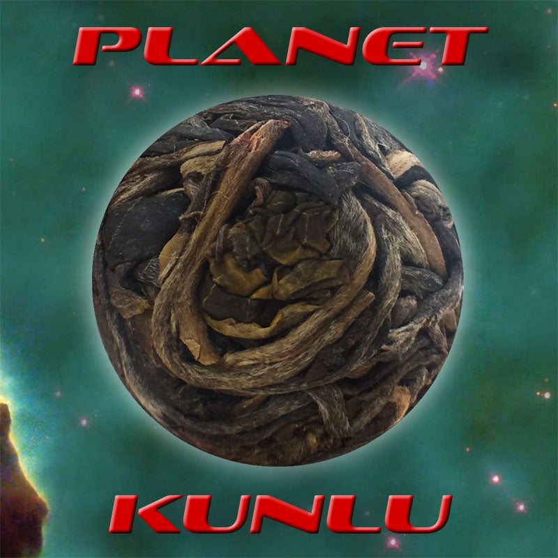 """Planet Kunlu"" Single Serving Sheng / Raw Puerh Tea Dragon Balls :: FREE SHIPPING"
