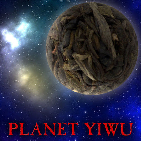 """Planet Yiwu"" Single Serving Sheng / Raw Puerh Tea Dragon Balls"