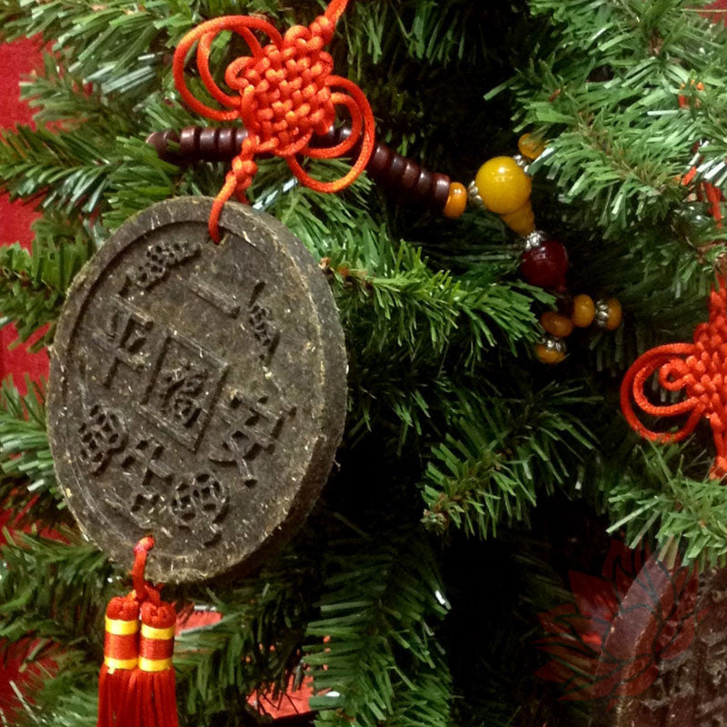 Puerh Tea Christmas Ornament