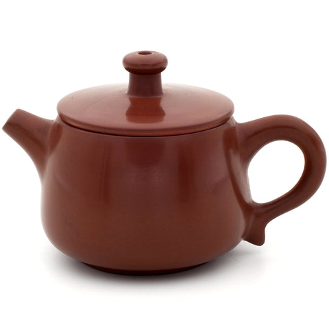 Polished Red/Brown Jianshui Zitao Teapot - Shi Piao Style - 100-110ml :: FREE SHIPPING