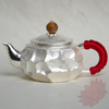 Handmade Solid Silver Gongfu Teapot 160ml - FREE SHIPPING