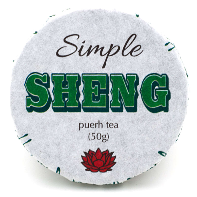 "2017 ""Simple Sheng"" Sheng / Raw Puerh from Crimson Lotus Tea :: FREE SHIPPING"