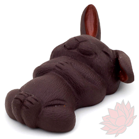 Back Napping Bunny Teapet :: FREE SHIPPING