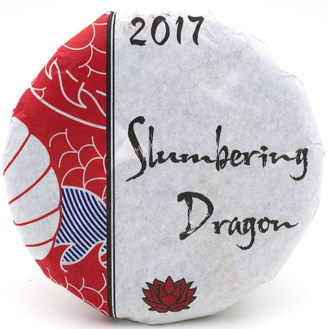 "Spring 2017 ""Slumbering Dragon"" Sheng / Raw Puerh from Crimson Lotus Tea :: FREE SHIPPING"