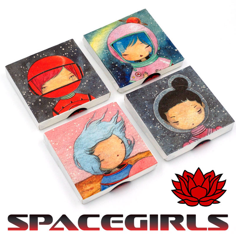 """Space Girls"" a 2016 Sheng Puerh Tea Blend"