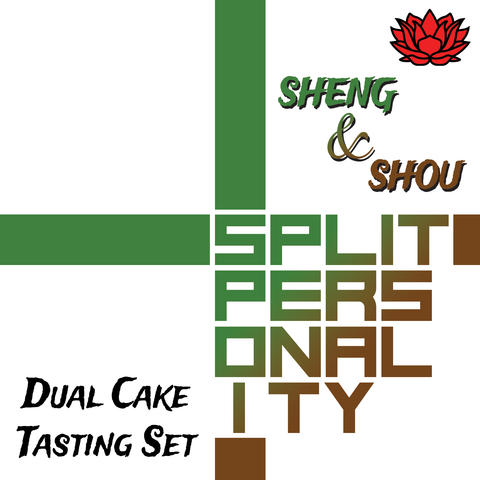 "Split Personality"" Sheng / Shou Comparison Tasting Set :: Seattle Inventory"
