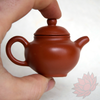 Crimson Lotus Tea Yixing Mini Teapot Teapet Pan Hu Style