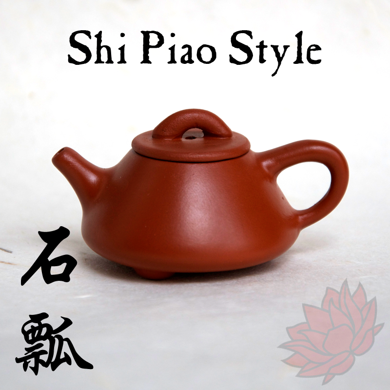 Crimson Lotus Tea Yixing Mini Teapot Teapet Shi Piao Style