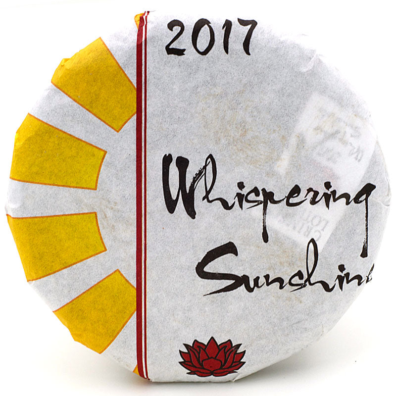 "Spring 2017 ""Whispering Sunshine"" Sheng / Raw Puerh from Crimson Lotus Tea :: FREE SHIPPING"