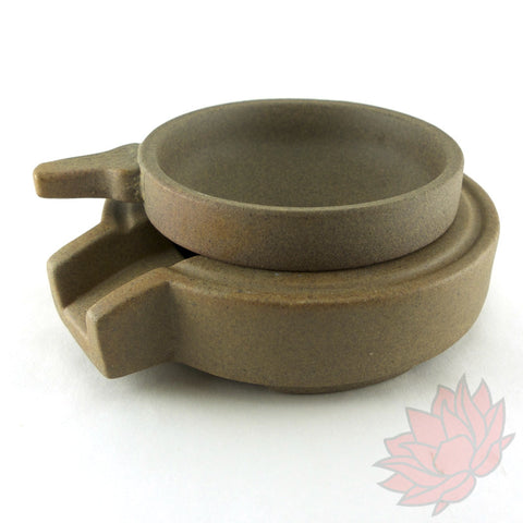 Yixing Clay Tea Filter and Base