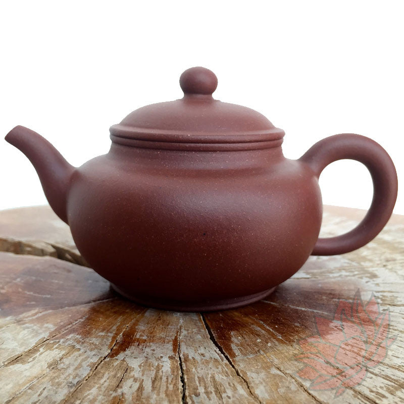 Yixing Di Cao Qing Clay Teapot Pan Hu Style 185ml - FREE SHIPPING