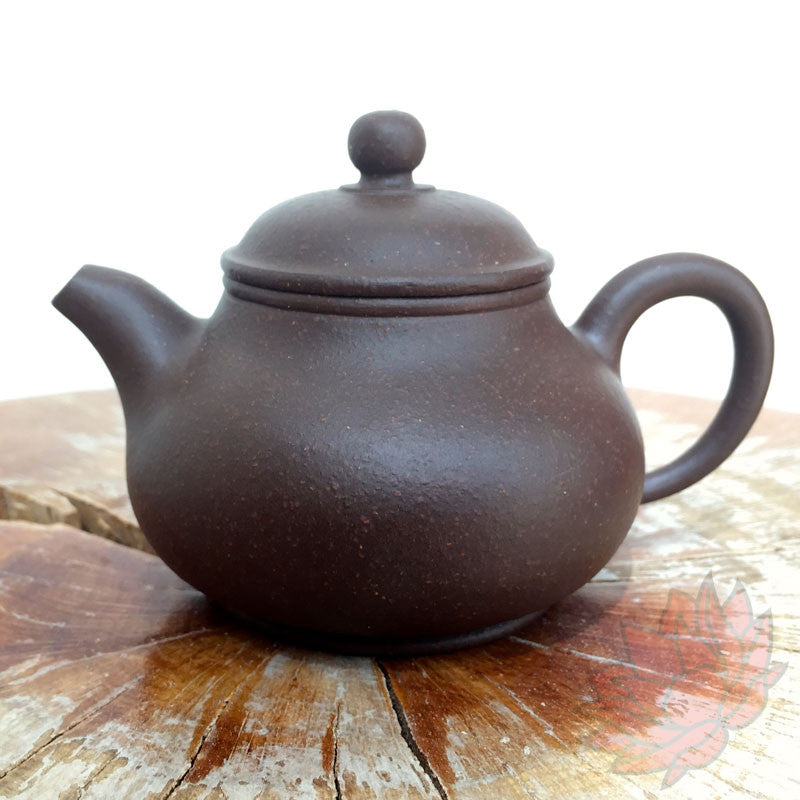 Yixing Zi Ni Clay Teapot Duo Qiu Style 175ml