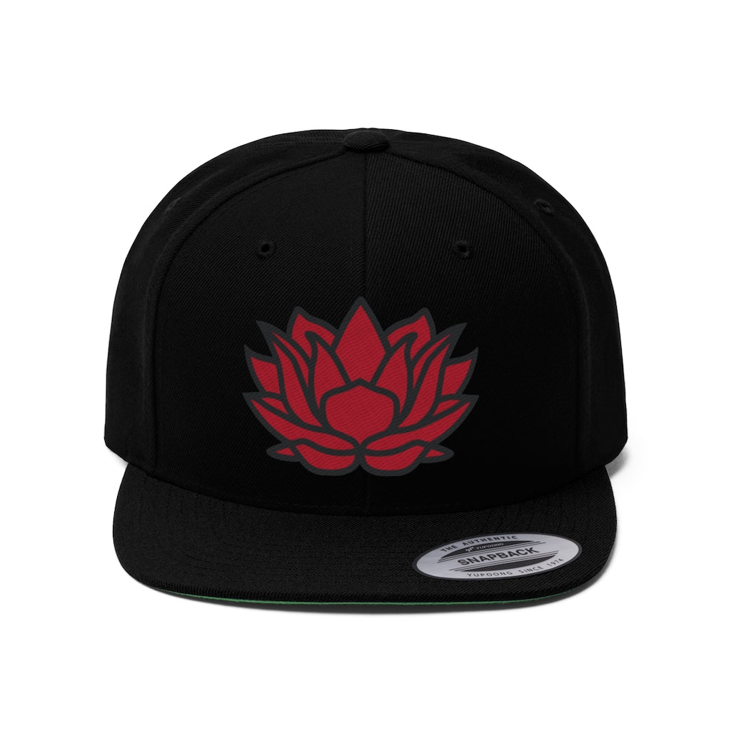 Crimson Lotus Tea Hat