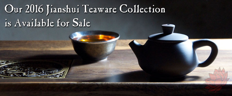2016 Jianshui Teaware Collection is Available for Sale